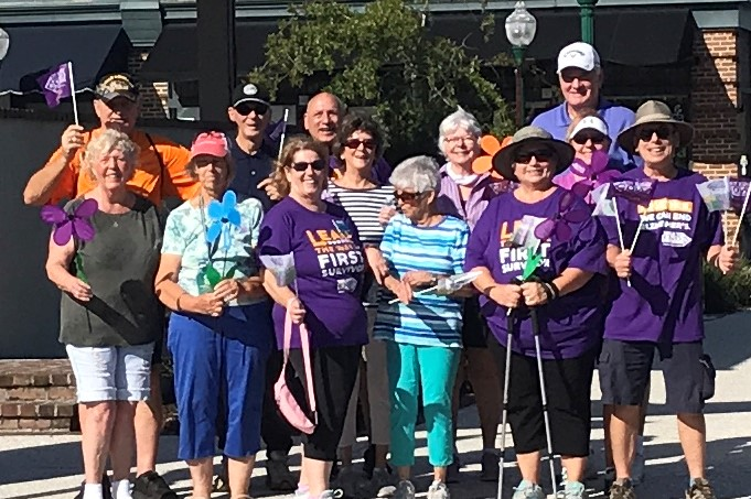 Walk to End Alzheimer's Participants - 1
